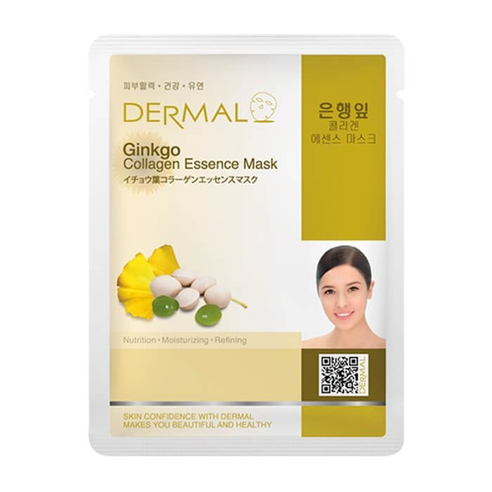Тканевая маска Dermal Ginkgo Collagen Essence Mask