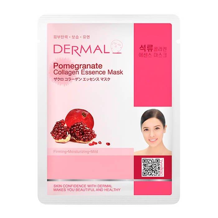Тканевая маска Dermal Pomegranate Collagen Essence Mask