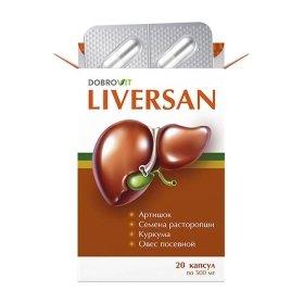 Капсулы для печени DobroVit Liversan