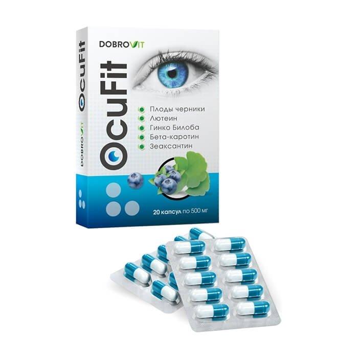 Комплекс для глаз DobroVit OcuFit