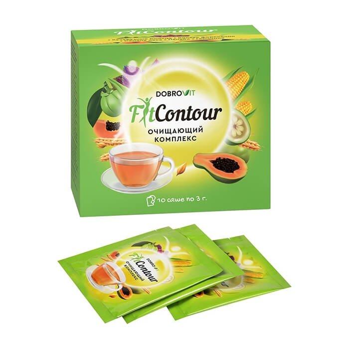 Очищающий чай DobroVit FitContour