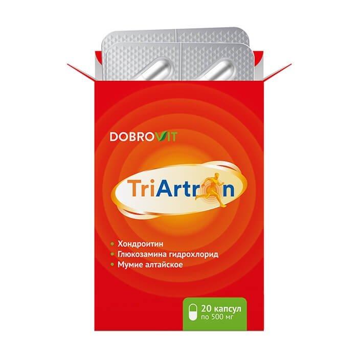 Растительный комплекс для суставов DobroVit TriArtron