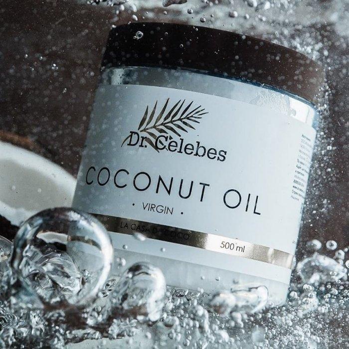 Кокосовое масло Dr.Celebes Virgin Coconut Oil (250 мл)