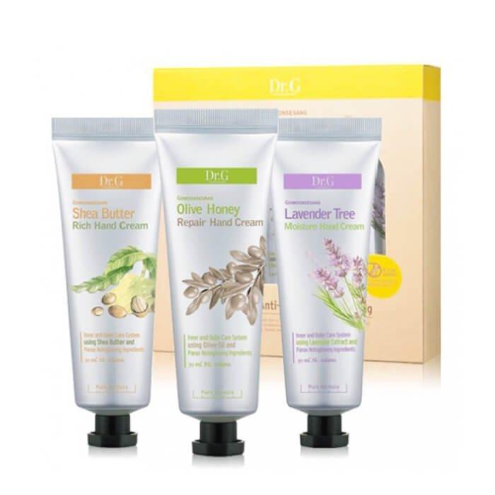 Крем для рук Dr.G Olive Honey Repair Hand Cream