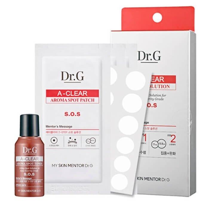 Набор от акне Dr.G A-Clear 2-Step Solution