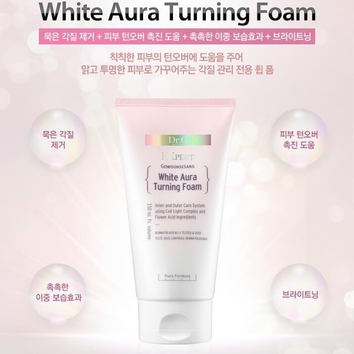 Пенка для умывания Dr.G White Aura Turning Foam
