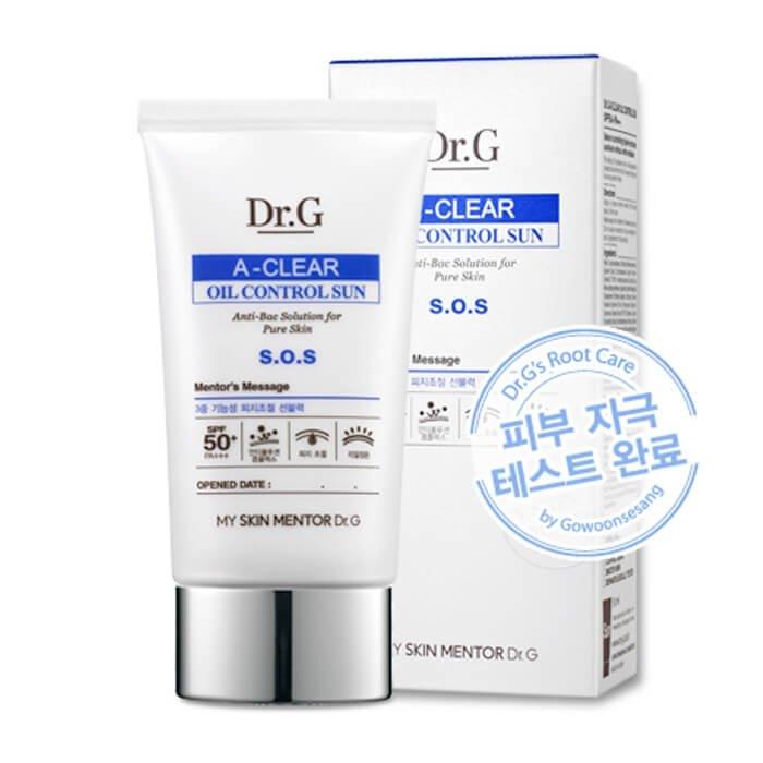 Солнцезащитный крем Dr.G A-Clear Oil Control Sun