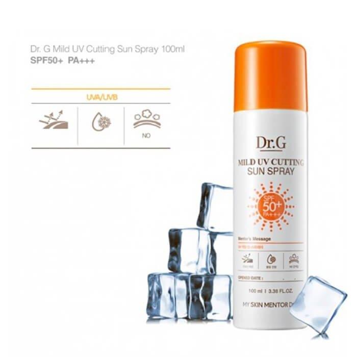 Солнцезащитный спрей Dr.G Mild UV Cutting Sun Spray