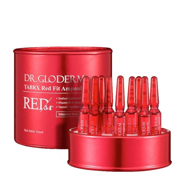 Набор ампульных эссенций для лица Dr.Gloderm TabRX Red Fit Ampoule (10 шт.)
