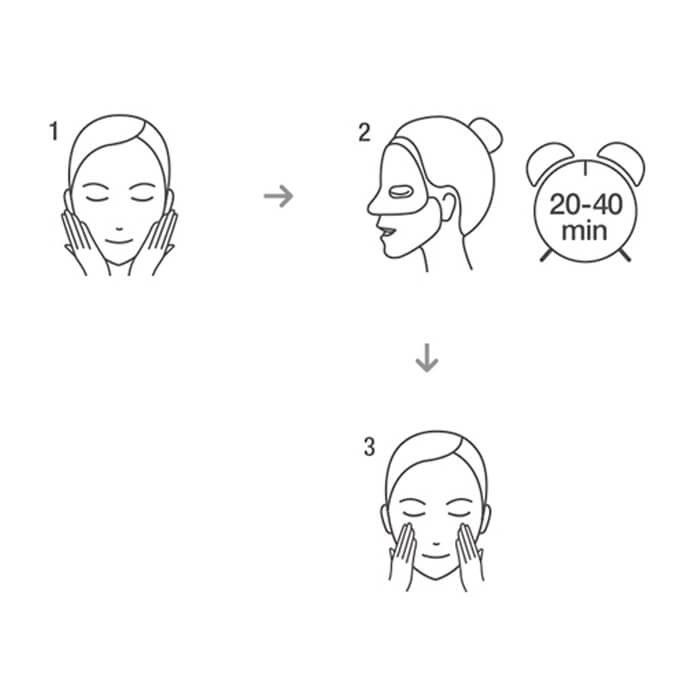 Набор гидрогелевых масок Dr.Jart+ Dermask Jet Wrinkless Solution