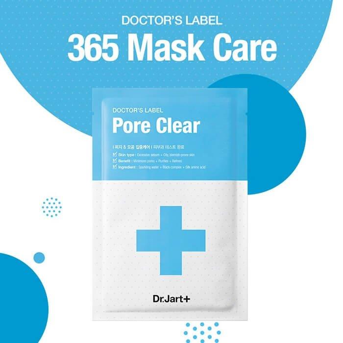 Набор тканевых масок Dr.Jart+ Doctors's Label Pore Clear