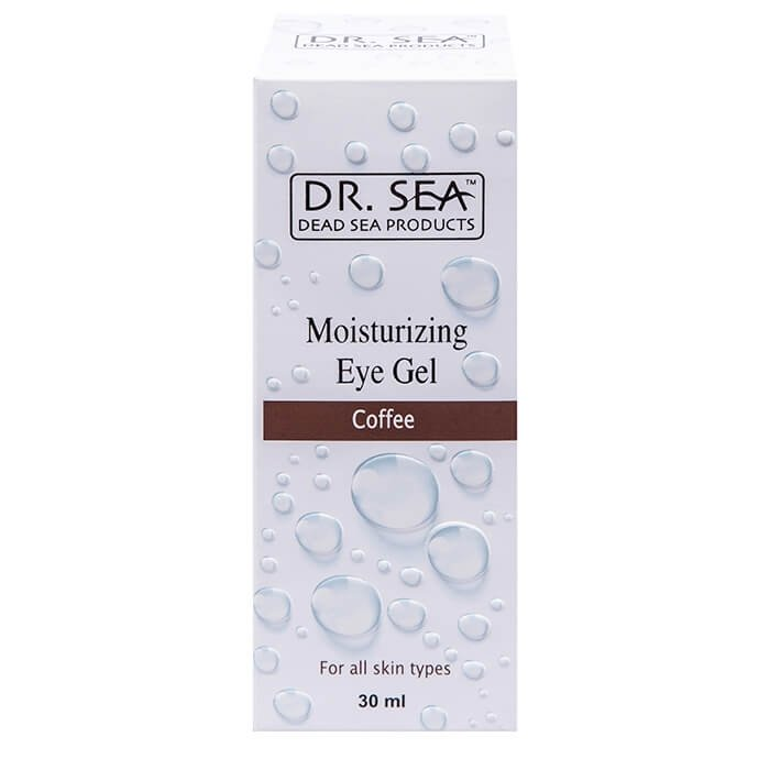 Гель для век Dr.Sea Moisturizing Eye Gel - Organic Coffee