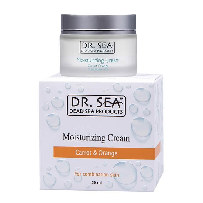 Крем для лица Dr.Sea Moisturizing Cream - Carrot & Orange