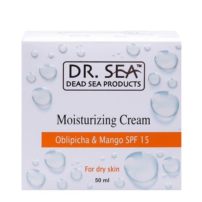 Крем для лица Dr.Sea Moisturizing Cream - Oblipicha & Mango