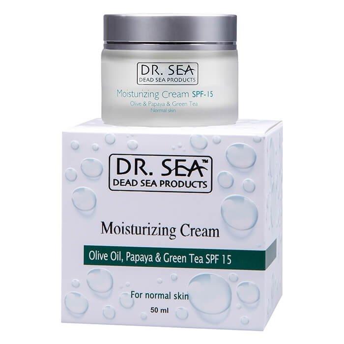 Крем для лица Dr.Sea Moisturizing Cream - Olive, Papaya & Green Tea