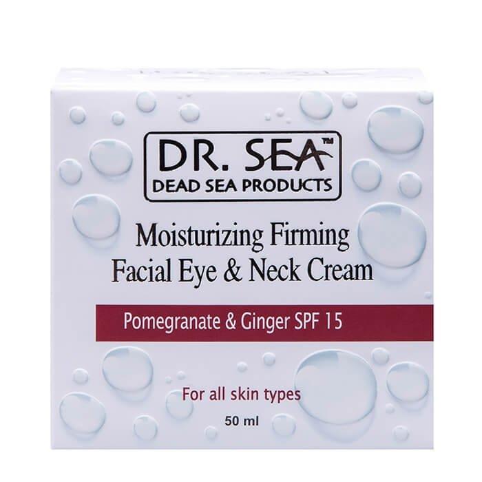 Крем для лица и шеи Dr.Sea Moisturizing Firming Facial Eye & Neck Cream