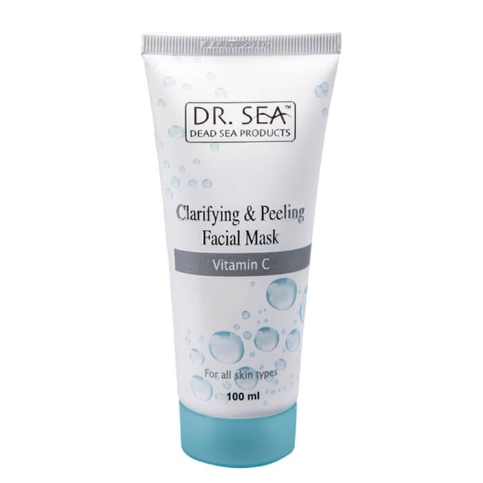 Маска для лица Dr.Sea Clarifying & Peeling Facial Mask - Vitamin C