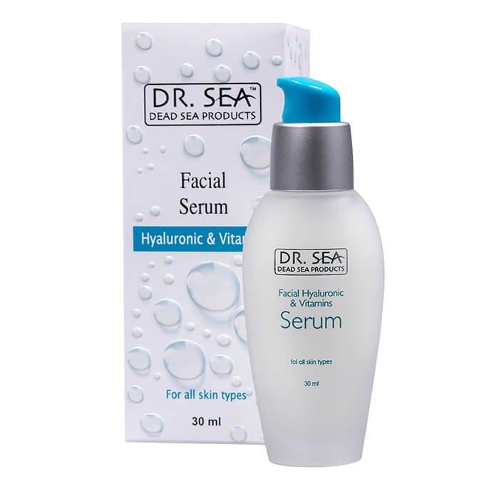 Сыворотка для лица Dr.Sea Facial Hyaluronic & Vitamins Serum