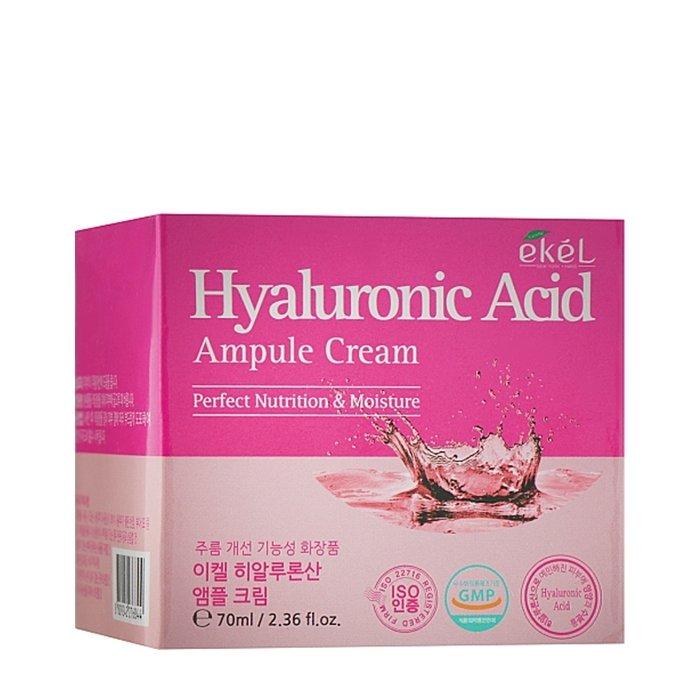 Крем для лица Ekel Hyaluronic Acid Ampoule Cream