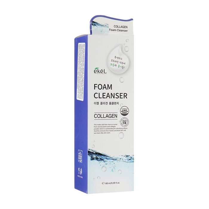 Пенка для умывания Ekel Foam Cleanser Collagen (180 мл)