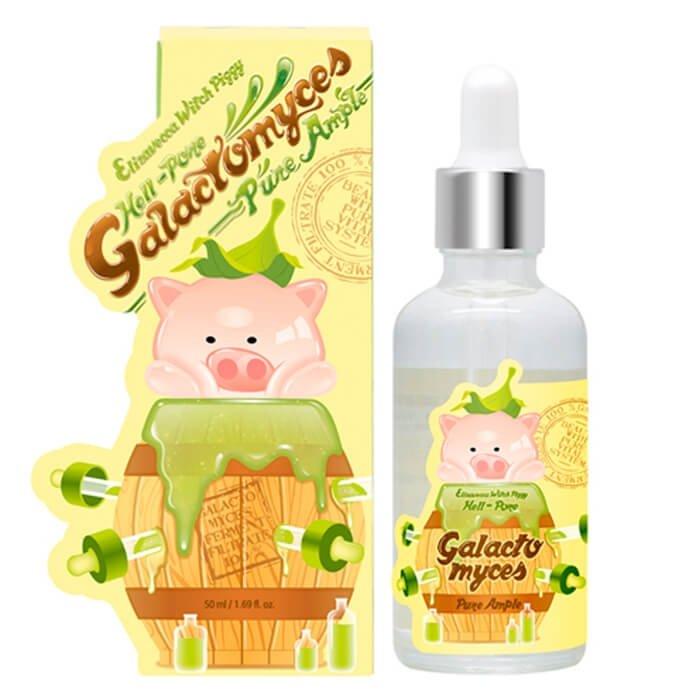 Ампульная сыворотка Elizavecca Milky Piggy Galactomyces 100% Pure Ample