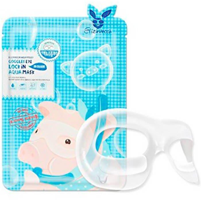 Гидрогелевые очки Elizavecca Milky Piggy Goggles Eye Lock In Aqua Mask