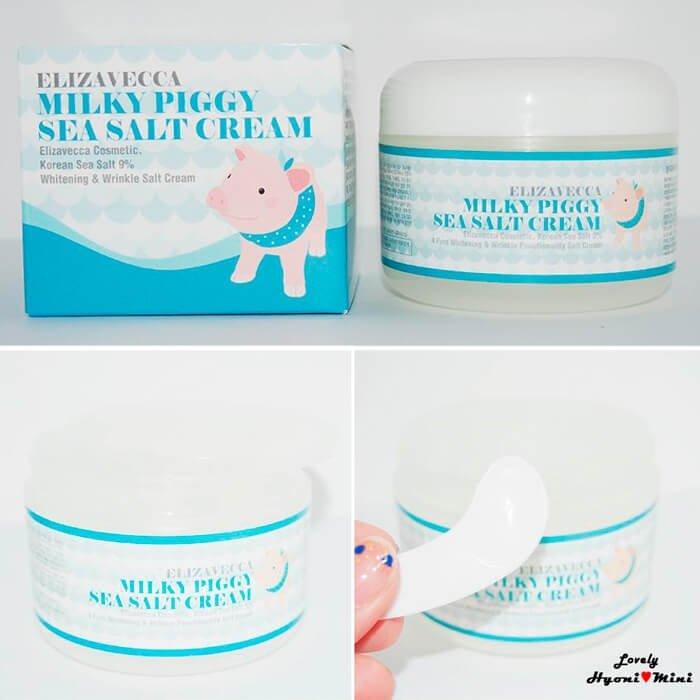 Крем для лица Elizavecca Milky Piggy Sea Salt Cream