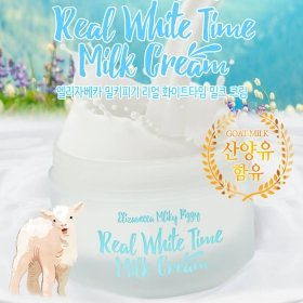 Крем для лица и тела Elizavecca Real White Time Milk Cream