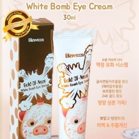 Крем для век Elizavecca Gold CF-Nest White Bomb Eye Cream