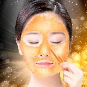 Маска-плёнка Elizavecca Hell-Pore Longolongo Gronique Gold Mask Pack