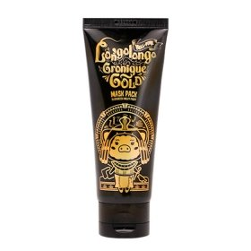 Маска-плёнка Elizavecca Hell-Pore Longolongo Gronique Gold Mask Pack