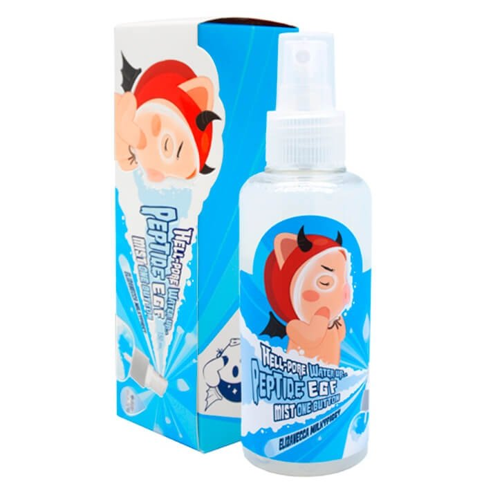 Мист для лица Elizavecca Hell-Pore Water Up Peptide EGF Mist