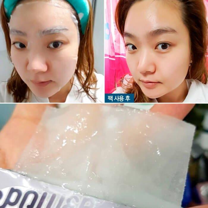 Тканевая маска Elizavecca Collagen Deep Power Ringer Mask Pack