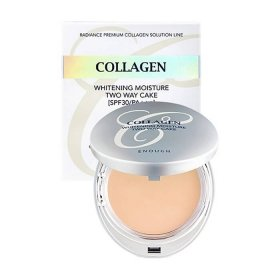 Пудра для лица Enough Collagen 3 In 1 Two Way Cake