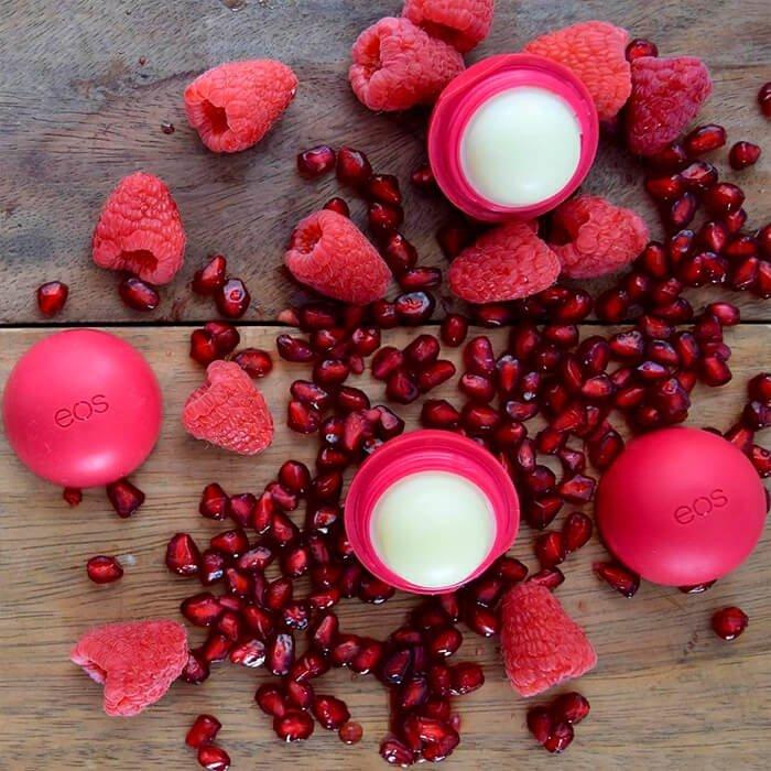 Бальзам для губ EOS Smooth Sphere Lip Balm - Pomegranate Raspberry