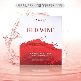 Гидрогелевая маска Esthetic House Red Wine Regenerating Solution Hydrogel Mask Pack