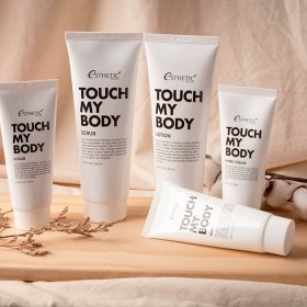 Скраб для тела Esthetic House Touch My Body Goat Milk Body Scrub (250 мл)