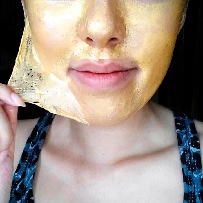 Золотая маска для лица Esthetic House Piolang 24K Gold Wrapping Mask