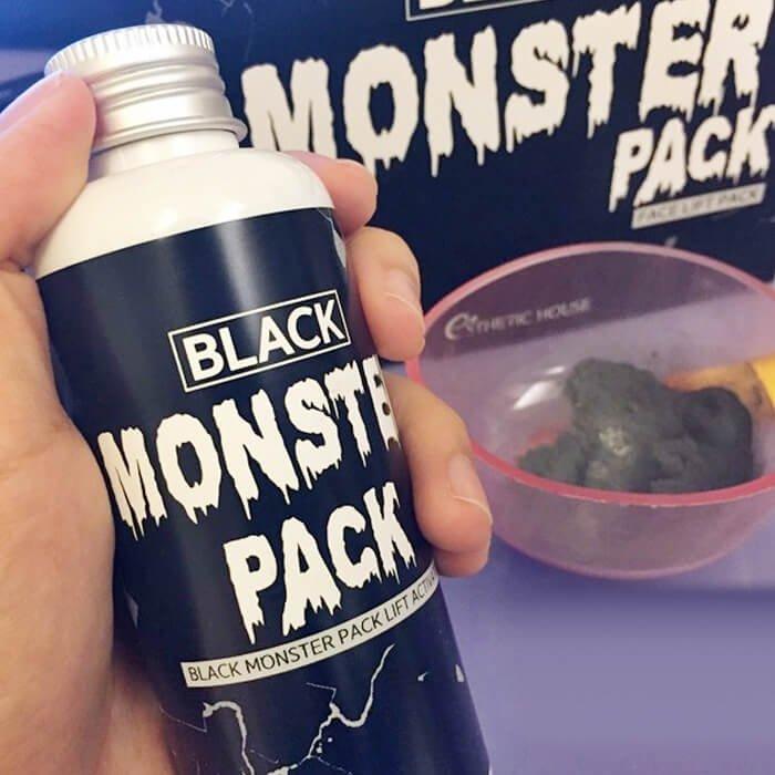 Набор для приготовления маски Esthetic House Black Monster Pack