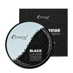 Патчи для век Esthetic House Black Caviar Hydrogel Eye Patch