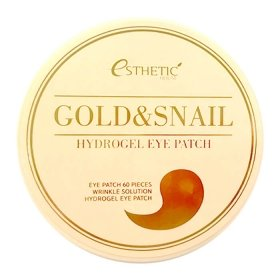 Патчи для глаз Esthetic House Gold & Snail Hydrogel Eye Patch