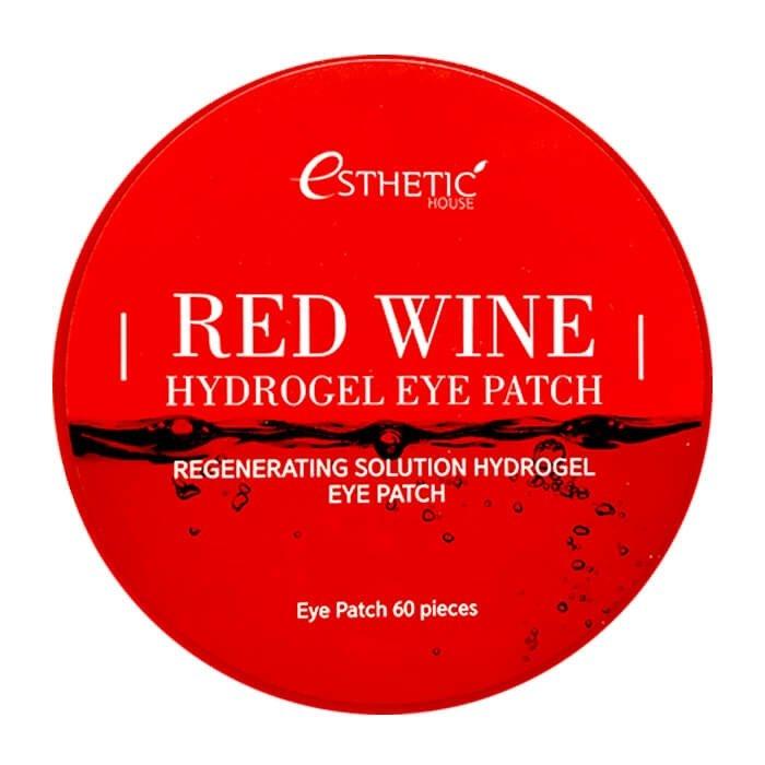 Патчи для глаз Esthetic House Red Wine Hydrogel Eye Patch