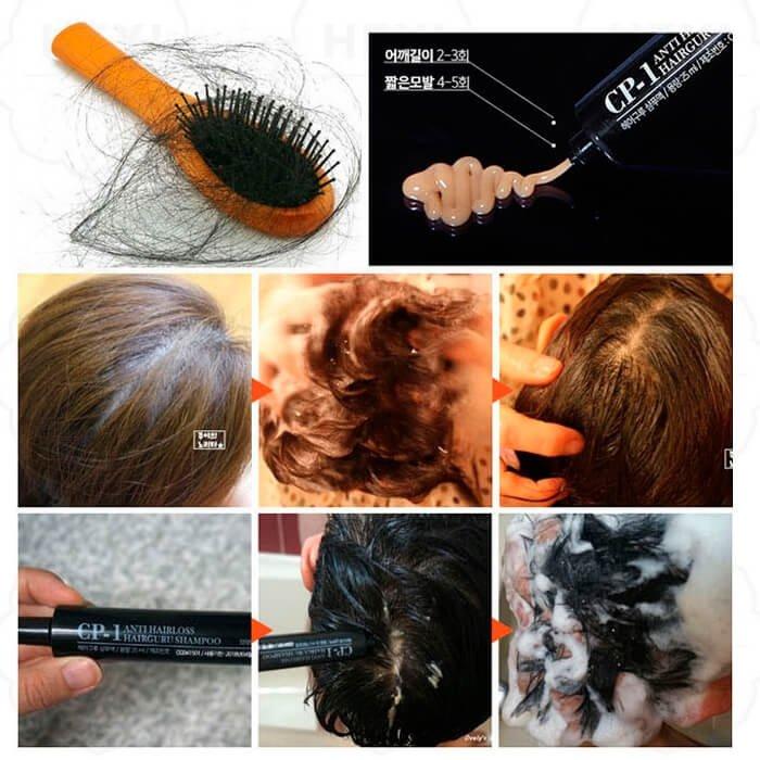 Шампунь для волос Esthetic House CP-1 Anti Hairloss Hairguru Shampoo Blister Package