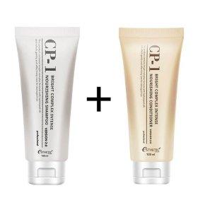 Шампунь + Кондиционер для волос Esthetic House CP-1 Bright Complex Intense Nourishing Set v2.0 (mini)