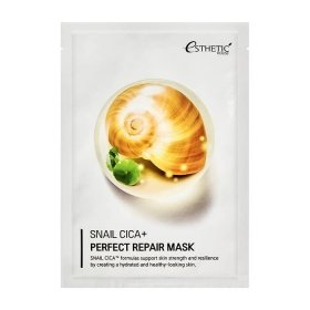 Тканевая маска Esthetic House Snail Cica+ Perfect Repair Mask