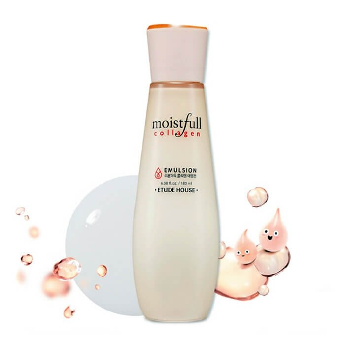 Эмульсия для лица Etude House Moistfull Collagen Emulsion (180 мл)