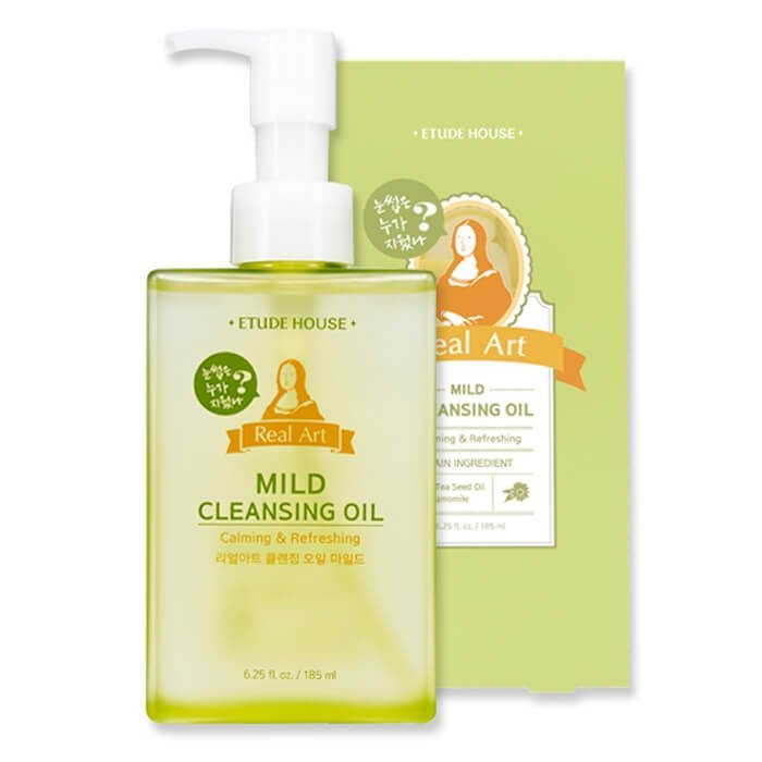 Гидрофильное масло Etude House Real Art Cleansing Oil Mild
