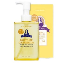 Гидрофильное масло Etude House Real Art Cleansing Oil Moisture