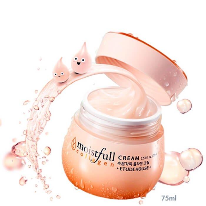 Крем для лица Etude House Moistfull Collagen Cream
