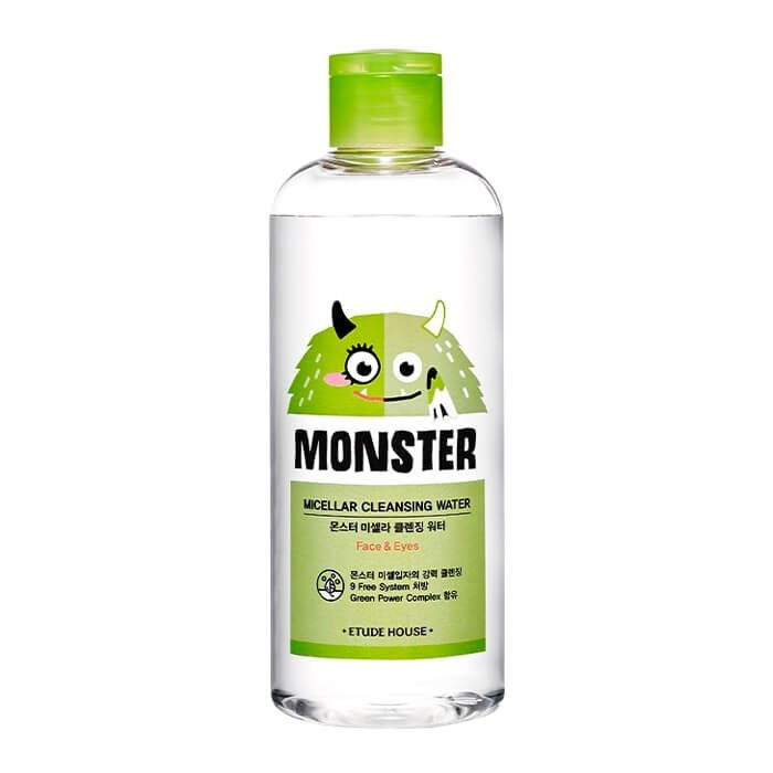 Мицеллярная вода Etude House Monster Micellar Cleansing Water (300 мл)